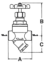 Thermodynamic Steam Trap SV-1 Series - Dimensions