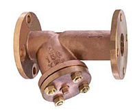 "Flanged ""Y"" Strainer Cast Bronze - 150YFB Series"