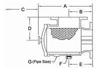 Suction Diffuser - Dimensions