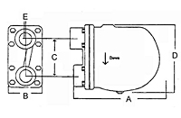 Float and Thermostatic Steam Trap – Dimensions