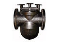 Basket Flanged Strainer Cast Iron - 125BFIQR Series